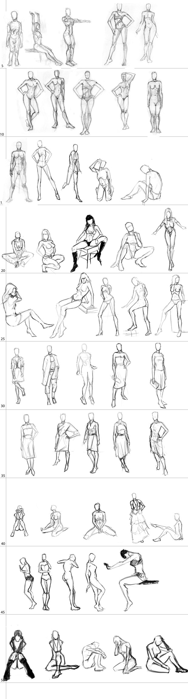 "Spartan Camp #29 - 50 gestures + Optional Study of Action ""RAGE"""