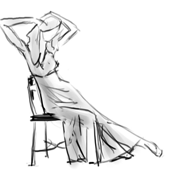 """Spartan Camp #25 - 50 gestures + Optional Study of """"Sitting"""""""