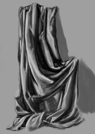 Spartan Training Camp #3 - 50 gestures + Value study + Drapery study