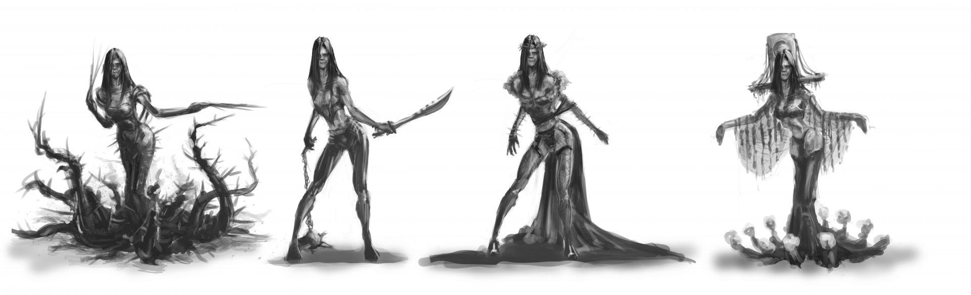 Female Creature Concepts